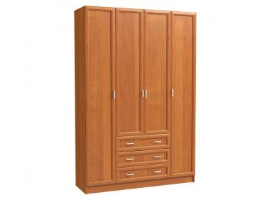 Шкаф 4х дверный с 3-мя бол. ящ.